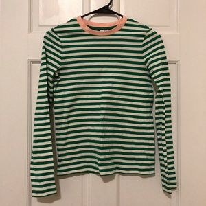 & Other Stories green striped tee